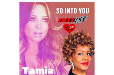 Tamia 1st #LNL