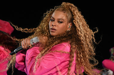 INDIO, CA - APRIL 21: Beyonce performs at the 2018 Coachella Valley Music And Arts Festival at Indio Polo Grounds on April 21, 2018 in Indio, California.