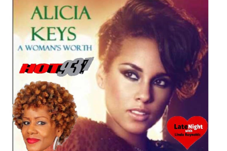 Alicia Keys A Woman's Worth 1st #LateNightLove