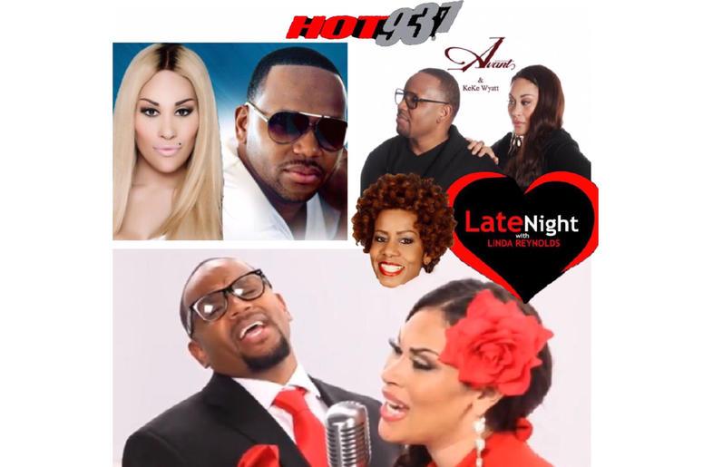 #tbt Avant & Keke Wyatt medley beginning #latenightlove