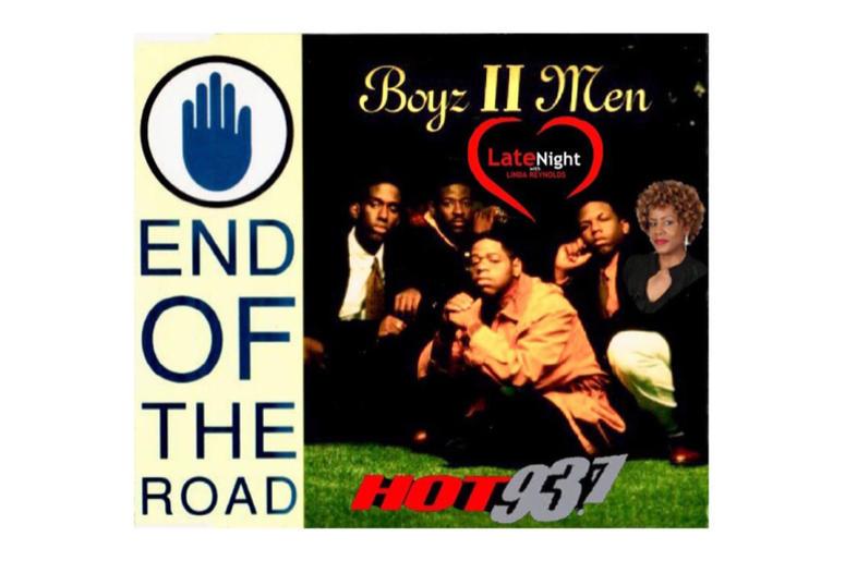 Boyz II Men End of the Road 1st #latenightlove