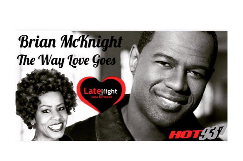 Brian McKnight 1st #latenightlove
