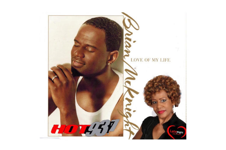 Brian McKnight Love of My Life 1st #latenightlove
