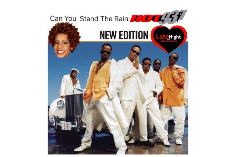 New Edition Can You Stand The Rain 1st #latenightlove