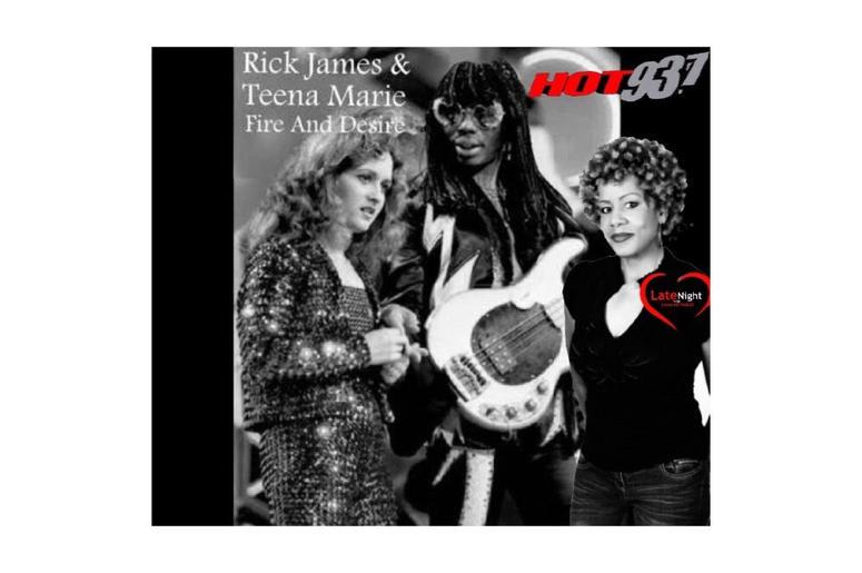 Rick James & Teen Marie Fire and Desire 1st #latenightlove
