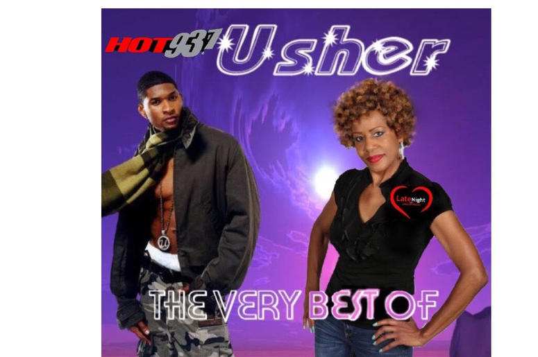 Usher Nice & Slow 1st #latenightlove