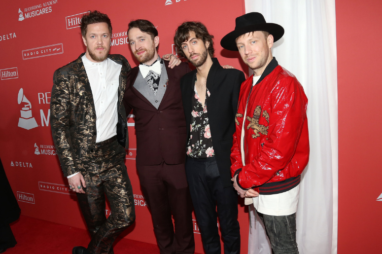 Imagine Dragons attends the 2018 MusiCares Person of the Year