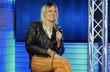 Tove Lo at the RADIO.COM New York City studio