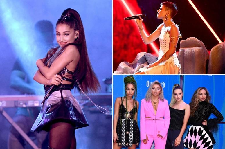 Ariana Grande, Halsey, Little Mix